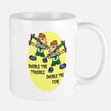 DOUBLE THE TROUBLE, DOUBLE TH Mug