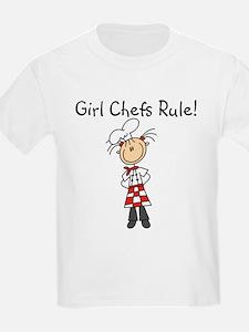Girl Chefs Rule T-Shirt