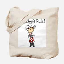 Girl Chefs Rule Tote Bag