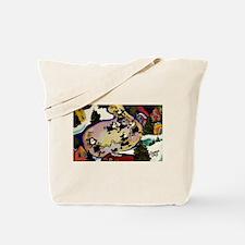 NUN CAPADES FOLK ART Tote Bag