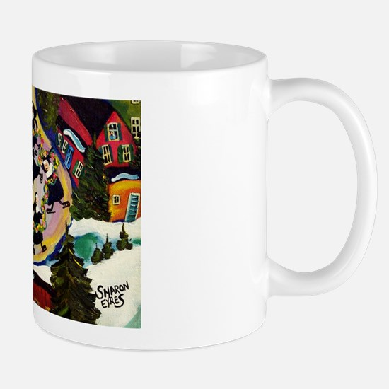 NUN CAPADES FOLK ART Mug