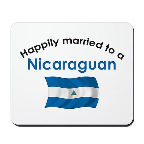 Happily Married Nicaraguan 2 Mousepad