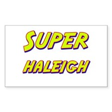 Super haleigh Rectangle Decal