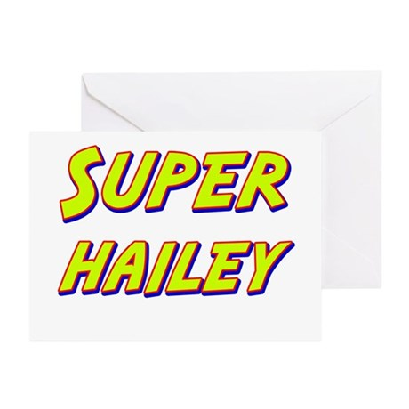 Super hailey Greeting Cards (Pk of 20)