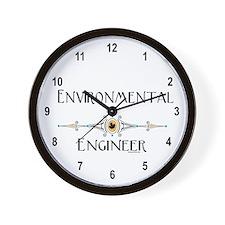 Environmental Engineer Wall Clock