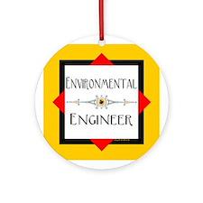 Environmental Engineer Ornament (Round)
