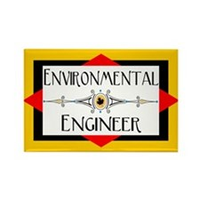Environmental Engineer Rectangle Magnet