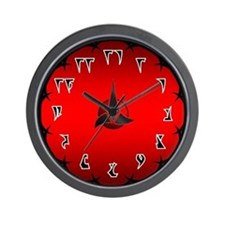 Klingon War Wall Clock