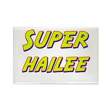 Super hailee Rectangle Magnet