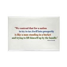 Humorous tax quotes Rectangle Magnet