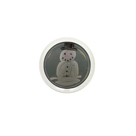 Snowman Mini Button (10 pack)