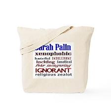 Unique I hate sarah palin Tote Bag