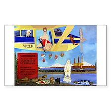 Anti Sarah Palin Rectangle Sticker 50 pk)