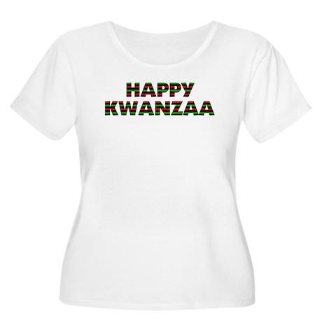 7 Days of Kwanzaa Women's Plus Size Scoop Neck T-S