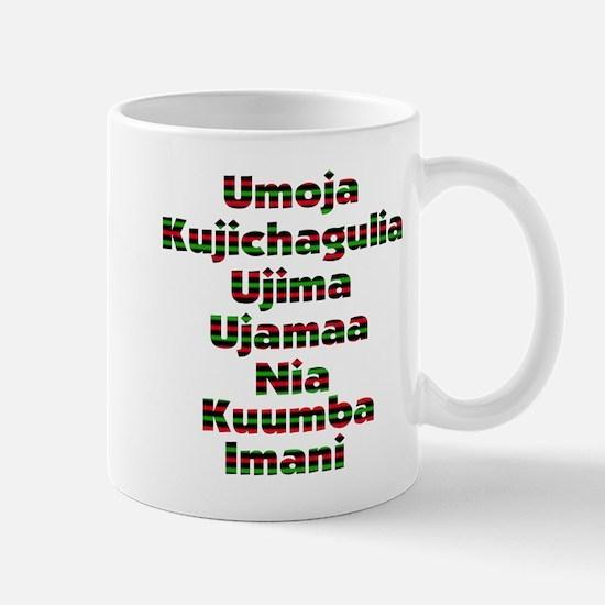 7 Days of Kwanzaa Mug