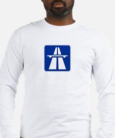 Autobahn Sign Long Sleeve T-Shirt
