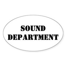 """Sound Department"" Sticker (10 pk)"
