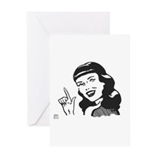 Cool Winking Greeting Card