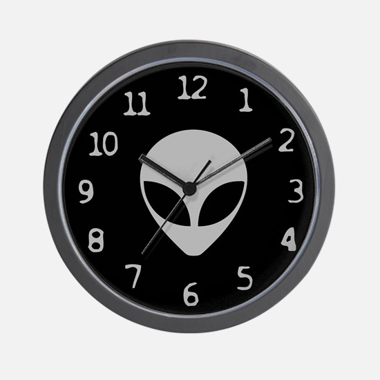 Alien Wall Clock