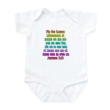 John 3:16 Swedish Infant Bodysuit