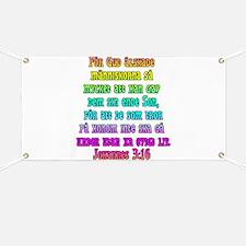 John 3:16 Swedish Banner