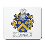 Spinetta Family Crest Mousepad
