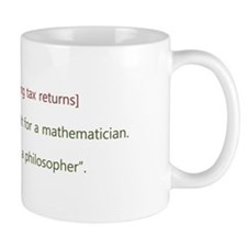 Cute Philosophical Mug