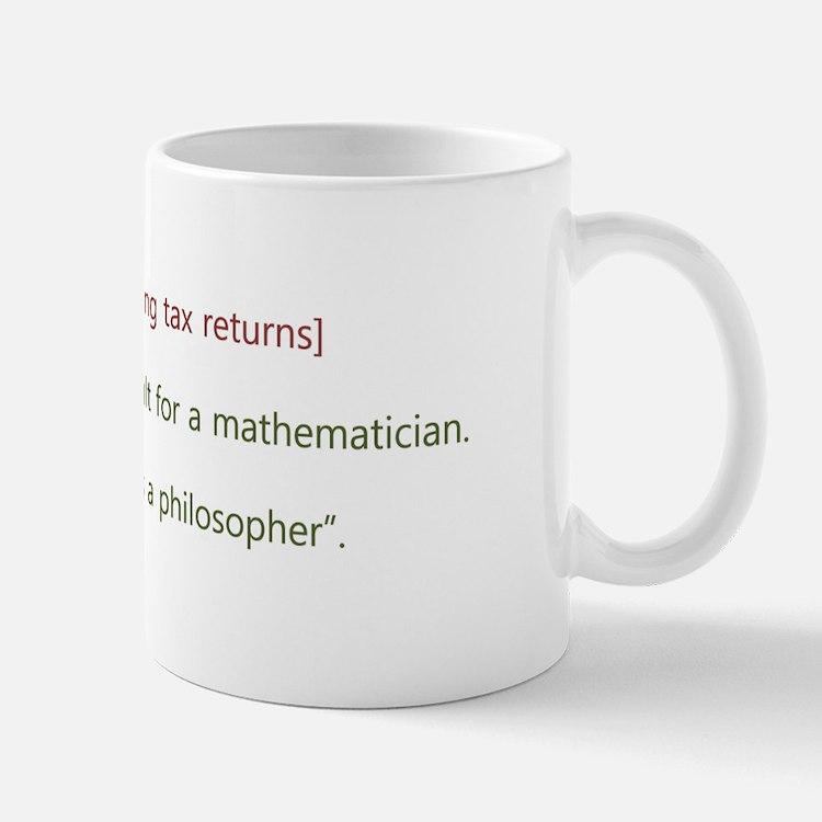 Cute Funny tax Mug