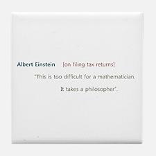Cute Funny sayings Tile Coaster