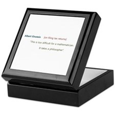 Unique Taxes Keepsake Box
