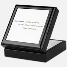 Cute Taxes Keepsake Box