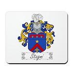 Stagni Family Crest Mousepad