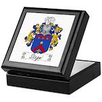 Stagni Family Crest Keepsake Box