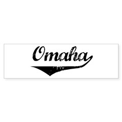 Omaha Bumper Sticker