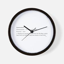 Cute Philosophical Wall Clock