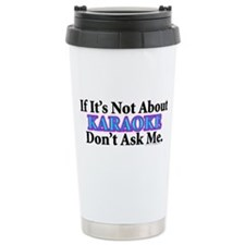Karaoke Stainless Steel Travel Mug