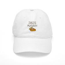 Pumpkin Pie Baseball Cap