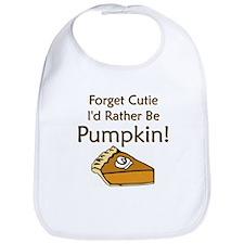 Pumpkin Pie Bib