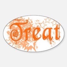 Treat Oval Decal
