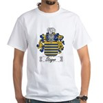 Stagno Family Crest White T-Shirt