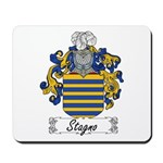 Stagno Family Crest Mousepad