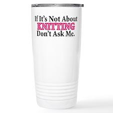 Knitting Travel Mug