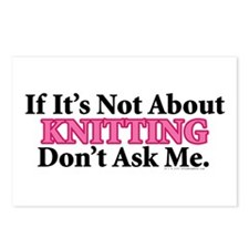 Knitting Postcards (Package of 8)