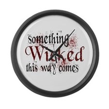 Something Wicked Large Wall Clock