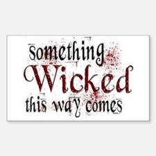 Something Wicked Rectangle Decal