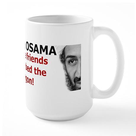 Terrorist Friends Large Mug