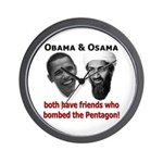 Terrorist Friends Wall Clock
