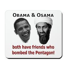 Terrorist Friends Mousepad