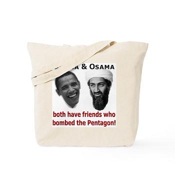 Terrorist Friends Tote Bag