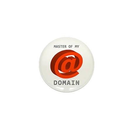 'Master of My Domain' Mini Button